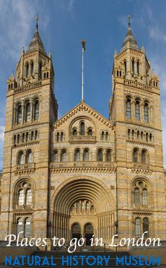 The Natural History Museum is one of the best places to visit in London - worth the visit alone to see the building in which it is housed.