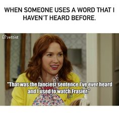 As a marketer, I love learning fancy words. How many of you are obsessed with the english language and writing? This marketing meme is so me. We use memes to make marketing less boring. What do you think?