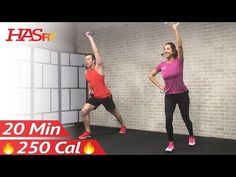 20 Minute Low Impact Cardio Workout for Beginners - Beginner Workout Routine at Home for Women Men - YouTube