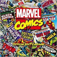 Calendar MARVEL COMICS 2017
