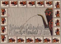 Mail Art.           Beverly Womack