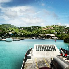 virgin-islands-on-line.com — Welcome home! Landing at the dock on St. John - is...