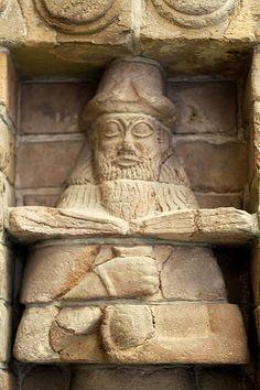 URUK - Détail d'un mur du Temple d'Inanna.