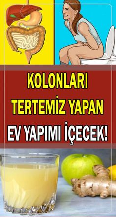 Homemade Beverage Recipe for Natural Colon Cleansing- Doğal Kolon Temizliği İ… – Sebze yemekleri – The Most Practical and Easy Recipes Healthy Sport, Healthy Life, Healthy Habits, Morning Detox Smoothie, Detox Kur, Smoothie Challenge, Natural Colon Cleanse, Natural Health Remedies, Natural Medicine