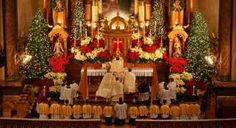 christmas mass, maybe once ill visit one :D