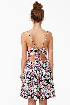 lollie floral dress-nasty gal