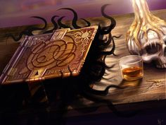 Magical Items-Evil Spell Book