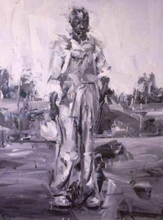 "Saatchi Art Artist Paul Wright; Painting, ""Purple Solomon"" #art"