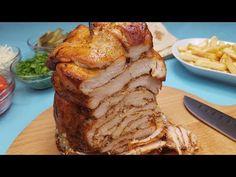 Shaorma de casa cu carne de pui (inclusa reteta de lipie) - YouTube Romanian Food, Shawarma, Fajitas, Nachos, Food Dishes, Food Videos, Chicken Recipes, Steak, Sandwiches