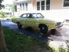Yellow car 1970 Dodge Coronet