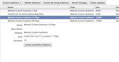 WCA Lookalike: Target Facebook Users Similar to Website Visitors >> This is a big deal! Love this update.