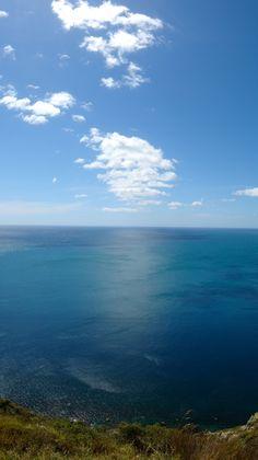 @ top of Kapiti Island, New Zealand