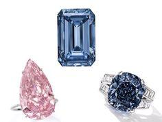 3 diamants de couleurs d�exception aux ench�res, ce printemps 2016