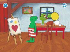 Kikker en kunst
