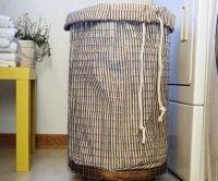 Prádlový koš - návod na výrobu
