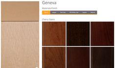 Geneva Door Style & Paris Door Style   Bellmont Cabinets - 1900 Series   Pinterest