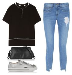 """Untitled #315"" by kholli-1 ❤ liked on Polyvore featuring Alexander Wang, Steve J & Yoni P, Loewe and Miu Miu"