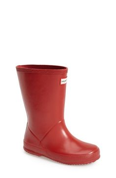 Hunter+'First+Classic'+Rain+Boot+(Walker,+Toddler+&+Little+Kid)+available+at+#Nordstrom