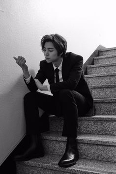 Johnny in a suit