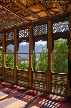 Chaqchan Mosque, Khaplu, Baltistan, Pakistan, built in 1370 is one of the oldest mosque in Baltistan and Pakistan.  Credits: Taha Malik Photography