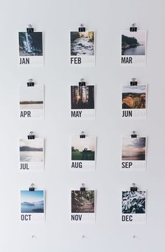 Stay organized in 2016 with the Artifact Uprising Wood Calendar featured on TLC!