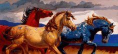 Nancy Glazier - Carrusel caballos III NO DISPONIBLE