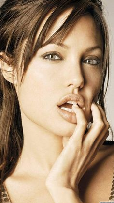 Angelina Jolie. Her beauty is second to none