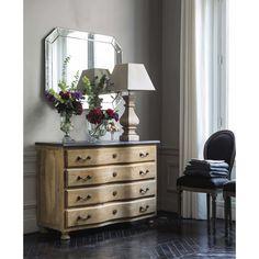 Espejo biselado Al. 100 cm APPOLINE | Maisons du Monde