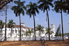 Se Cathedral built in a Portuguese-Gothic style in Velha Goa, Goa, India