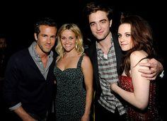 Ryan Reynolds, Reese Witherspoon, Robert Pattinson & Kristen Stewart
