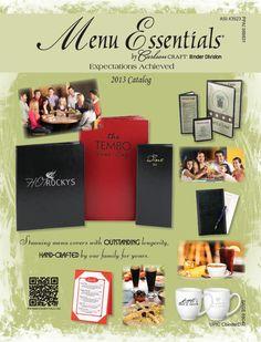 2013 Menu Catalog from Carlson Craft Binder Division
