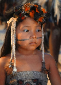 Brazil ~ OneBrownGirl.com® - Culture. Diversity. Humanity. Travel.: Indigenous Brown Girls of the Amazon