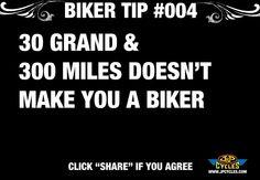 biker tip 4 Bike Humor, Motorcycle Humor, Biker Love, Dirt Bike Racing, Scooter Bike, Biker Quotes, Harley Davidson Bikes, Bike Stuff, Vroom Vroom