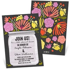 New Rehearsal Dinner Invitations from @Pear Tree Greetings! Whether it's a formal dinner or a backyard BBQ, we have an invitation to set the mood. #rehearsaldinnerinvitation #weddingideas #peartreegreetings