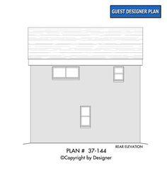 Plan - Garrell Associates, Inc. Woodland Lodges, Modern Garage, Hamptons House, Bar Chart, House Plans, Floor Plans, Flooring, How To Plan, Modern Carport
