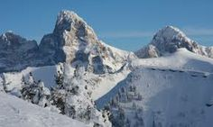 Jackson Hole, Wyoming is home to some of the best ski slopes.