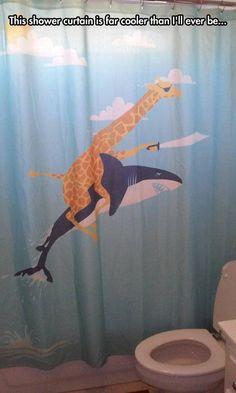 Cool shower curtain - http://jokideo.com/cool-shower-curtain/