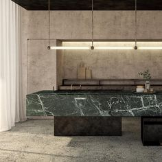 Modern Kitchen Design – Want to refurbish or redo your kitchen? As part of a modern kitchen renovation or remodeling, know that there are a . Beige Marble, Green Marble, Black Marble, Black Kitchens, Cool Kitchens, Kitchen Black, Beige Kitchen, Dream Kitchens, Diy Kitchen
