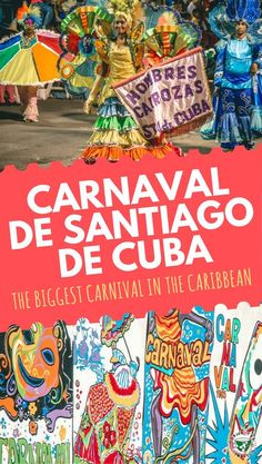 Want to visit the biggest Carnival in the Caribbean? Find here all the tips and information about the Carnaval de Santiago de Cuba. Caribbean Drinks, Caribbean Vacations, Caribbean Cruise, Cuban Culture, Lenten Season, Afro Cuban, Visit Cuba, Royal Caribbean International, Local Festivals