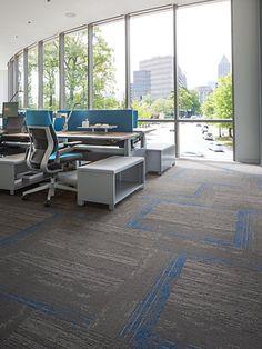 Hyper Earth Tile 12BY36, Bigelow Commercial Modular Carpet   Mohawk Group