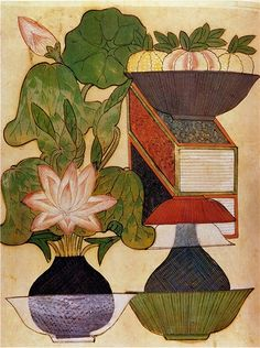 (Korea) Korean folk painting by unknown artist. ca 19th century CE. Joseon Kingdom, Korea. color on paper.