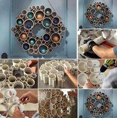 40 Super Smart DIY Decoration Ideas | http://art.ekstrax.com/2015/10/super-smart-diy-decoration-ideas.html