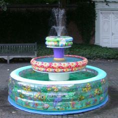 My kind of fountain