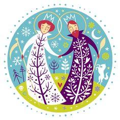 Slovakian Folklore: The Marriage of Morena & Jarilo