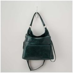 This Hobo International Quinn Bag In Hunter Green Does Not Qualify As A Bargain