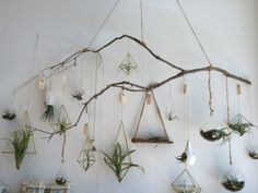 Nothing brings more life into your room than plants! A little bit of shrubbery can turn a bland wall into a soothing atmosphere. Here is a DIY on how to make a Macrame Style Inspired Wall Terrariums.