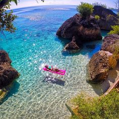 Blue at Villa Modern ( Cancuaay Private Beach) - Oslob Cebu, Philippines http://instagram.com/p/vRMlCDQOP2/?modal=true