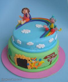Dora the explorer cake   Pixie Pie   Flickr