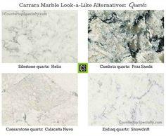 Best White Quartz Island That Looks Like Marble White Granite 400 x 300