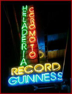 Heladeria Coromoto,con el record mundial Guinness de tener mas sabores de helados en el mundo,Merida Venezuela.
